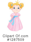 Princess Clipart #1287509 by Pushkin