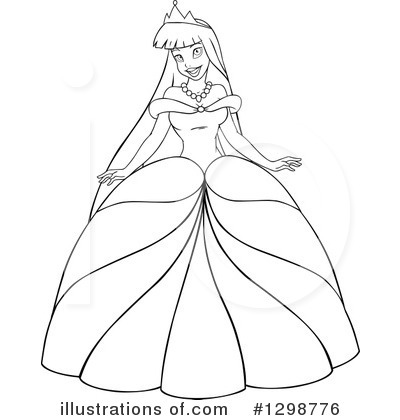Princess Clipart #1298776 by Liron Peer