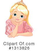 Princess Clipart #1313826 by Pushkin