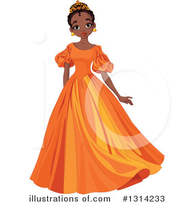 Princess Clipart #1314233 by Pushkin