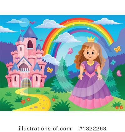 Princess Clipart #1322268 by visekart