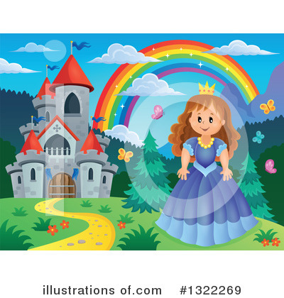 Princess Clipart #1322269 by visekart