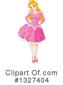 Princess Clipart #1327404 by Pushkin