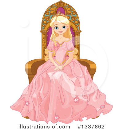 Princess Clipart #1337862 by Pushkin