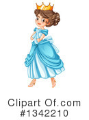 Princess Clipart #1342210 by Graphics RF