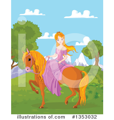Princess Clipart #1353032 by Pushkin