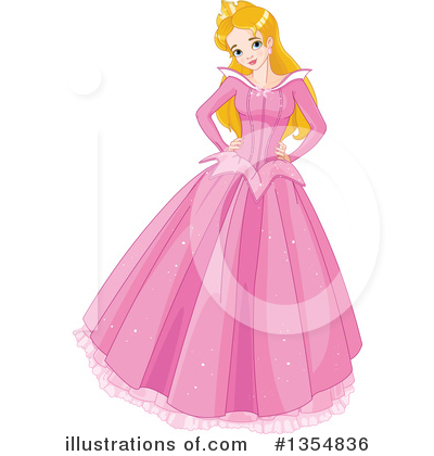 Princess Clipart #1354836 by Pushkin