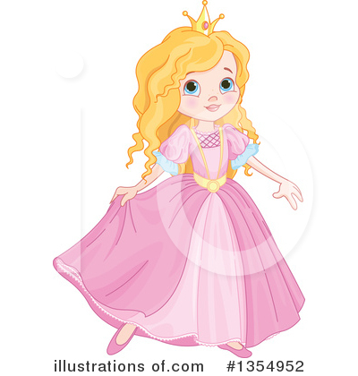 Princess Clipart #1354952 by Pushkin