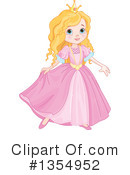 Royalty-Free (RF) Princess Clipart Illustration #1354952