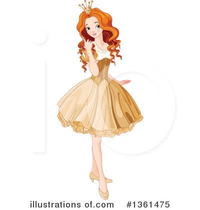 Princess Clipart #1361475 by Pushkin