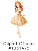 Royalty-Free (RF) Princess Clipart Illustration #1361475
