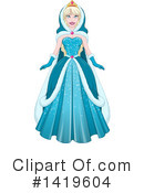 Princess Clipart #1419604 by Liron Peer
