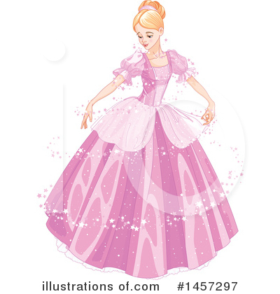 Royalty-Free (RF) Princess Clipart Illustration by Pushkin - Stock Sample #1457297