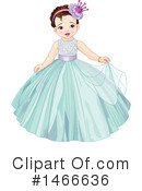 Royalty-Free (RF) Princess Clipart Illustration #1466636