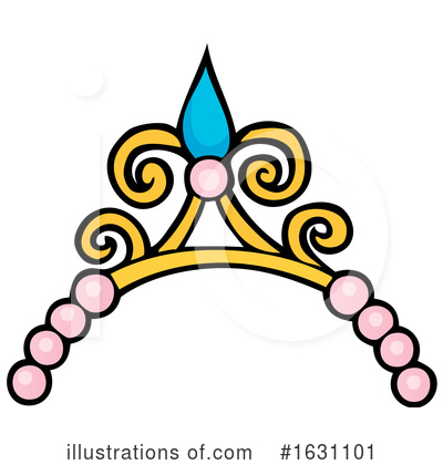Royalty-Free (RF) Princess Clipart Illustration by visekart - Stock Sample #1631101
