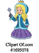 Princess Clipart #1695078 by visekart