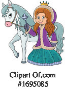 Princess Clipart #1695085 by visekart