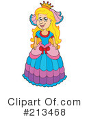 Princess Clipart #213468 by visekart