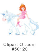 Royalty-Free (RF) Princess Clipart Illustration #50120