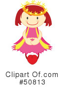 Princess Clipart #50813 by Cherie Reve