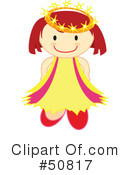 Princess Clipart #50817 by Cherie Reve
