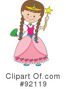 Princess Clipart #92119 by Maria Bell