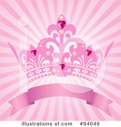 Royalty-Free (RF) Princess Clipart Illustration by Pushkin - Stock Sample #94049