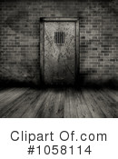 Royalty-Free (RF) Prison Clipart Illustration #1058114