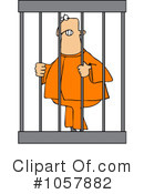 Royalty-Free (RF) Prisoner Clipart Illustration #1057882