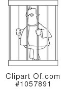 Royalty-Free (RF) Prisoner Clipart Illustration #1057891
