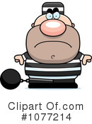 Prisoner Clipart #1077214 by Cory Thoman