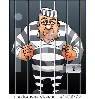 Royalty-Free (RF) Prisoner Clipart Illustration by Seamartini Graphics ...