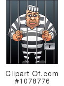 Royalty-Free (RF) Prisoner Clipart Illustration #1078776