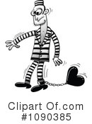 Royalty-Free (RF) Prisoner Clipart Illustration #1090385