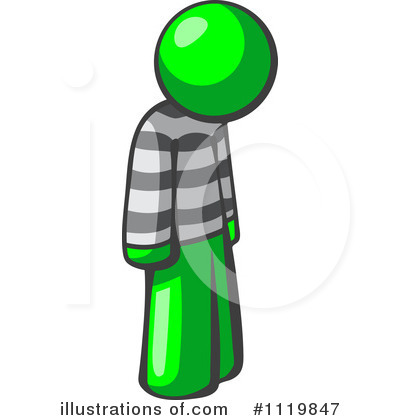 Green Design Mascot Clipart #1119847 by Leo Blanchette