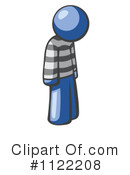 Royalty-Free (RF) Prisoner Clipart Illustration #1122208