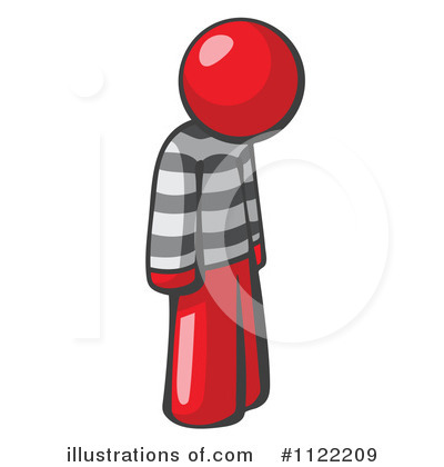 Red Design Mascot Clipart #1122209 by Leo Blanchette