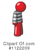 Royalty-Free (RF) Prisoner Clipart Illustration #1122209
