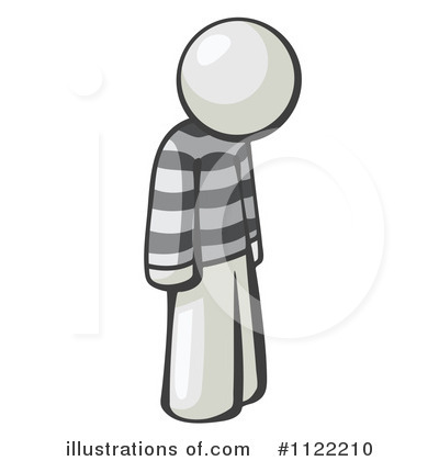White Design Mascot Clipart #1122210 by Leo Blanchette