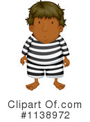 Royalty-Free (RF) Prisoner Clipart Illustration #1138972