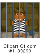 Royalty-Free (RF) Prisoner Clipart Illustration #1139290