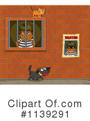 Royalty-Free (RF) Prisoner Clipart Illustration #1139291