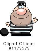 Royalty-Free (RF) Prisoner Clipart Illustration #1179979