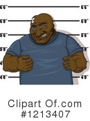 Royalty-Free (RF) Prisoner Clipart Illustration #1213407