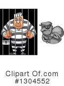 Prisoner Clipart #1304552 by Vector Tradition SM