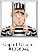 Royalty-Free (RF) Prisoner Clipart Illustration #1336342