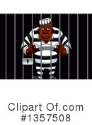 Royalty-Free (RF) Prisoner Clipart Illustration #1357508