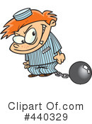 Royalty-Free (RF) prisoner Clipart Illustration #440329