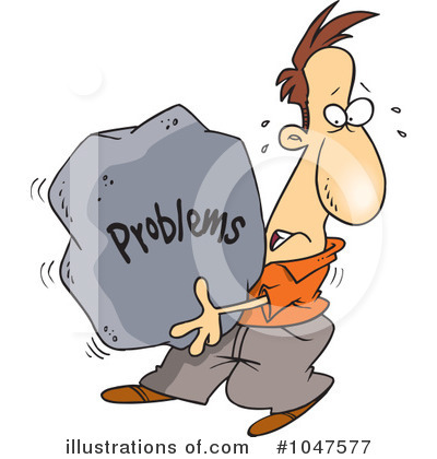 Royalty free rf problem clipart illustration by ron leishman stock