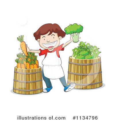 Veggie Clipart #1134796 by Graphics RF